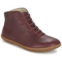 Pantofi Femei Ghete El Naturalista EL VIAJERO Roșu-bordeaux