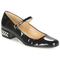 Pantofi Femei Balerin și Balerini cu curea Betty London FOTUNOU Negru