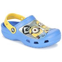 Pantofi Copii Saboti Crocs CC Minions Clog Albastru / Galben