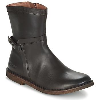 Pantofi Femei Ghete Kickers CRICKET Maro / Culoare închisă