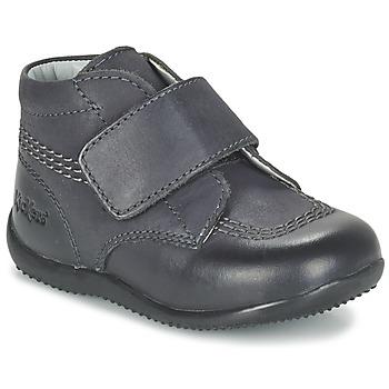 Pantofi Copii Ghete Kickers BILOU Negru