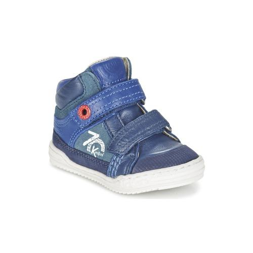 Pantofi Băieți Pantofi sport stil gheata Kickers JINJINU Albastru