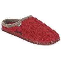 Pantofi Femei Papuci de casă Giesswein NEUDAU Roșu