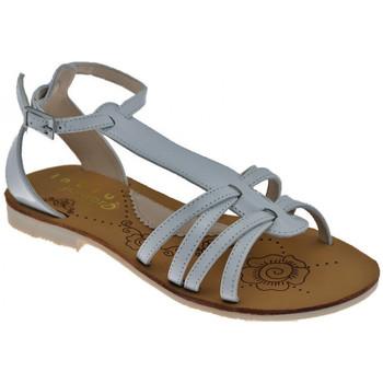 Pantofi Femei Sandale  Inblu  Alb
