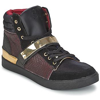 Încăltăminte Femei Pantofi sport stil gheata SuperTrash GOLDY Roșu-bordeaux