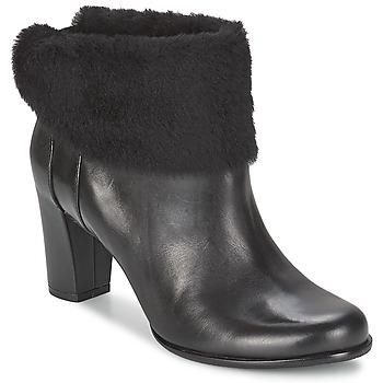 Pantofi Femei Botine Ecco PRETORIA Black