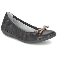 Pantofi Femei Balerin și Balerini cu curea TBS MACASH Negru / Taupe
