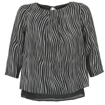 Îmbracaminte Femei Topuri și Bluze Betty London FADILIA Negru / Alb