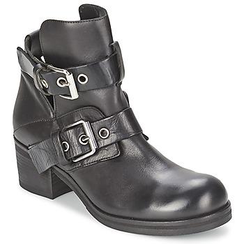 Pantofi Femei Botine Strategia CRECA Negru