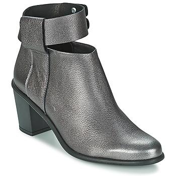 Pantofi Femei Botine Miista ODELE Pewter / Lever