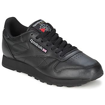 Încăltăminte Pantofi sport Casual Reebok Classic CL LTHR Negru