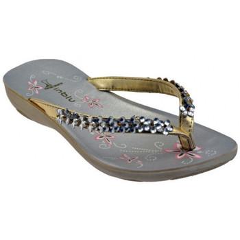 Pantofi Femei  Flip-Flops Inblu  Auriu