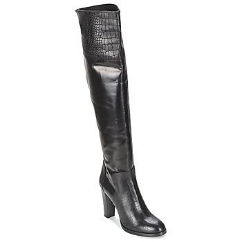 Pantofi Femei Cizme casual Alberto Gozzi GRINGO NERO Negru
