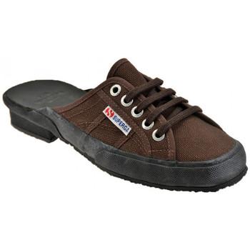Pantofi Femei Saboti Superga  Maro