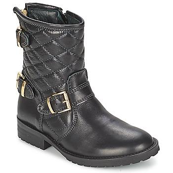 Pantofi Fete Ghete Hip RAVUTE Negru