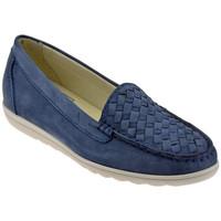 Pantofi Femei Mocasini Keys  albastru