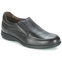 Pantofi Bărbați Mocasini Fluchos LUCA Negru