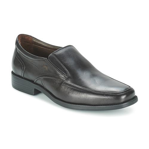 Pantofi Bărbați Mocasini Fluchos RAPHAEL Negru