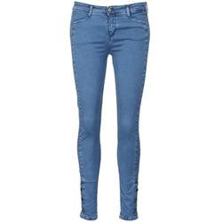 Îmbracaminte Femei Jeans slim Acquaverde ALFIE Albastru / LuminoasĂ