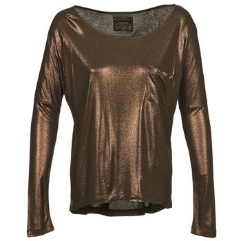 Îmbracaminte Femei Tricouri cu mânecă lungă  Chipie NINON Auriu