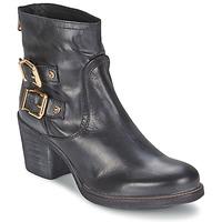 Pantofi Femei Botine Meline LODU Negru