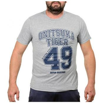 Îmbracaminte Bărbați Tricouri mânecă scurtă Onitsuka Tiger  Gri