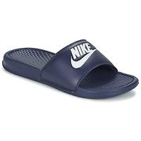 Pantofi Bărbați Șlapi Nike BENASSI JDI Albastru / Alb