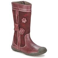 Pantofi Fete Cizme casual Mod'8 KLAN Roșu-bordeaux