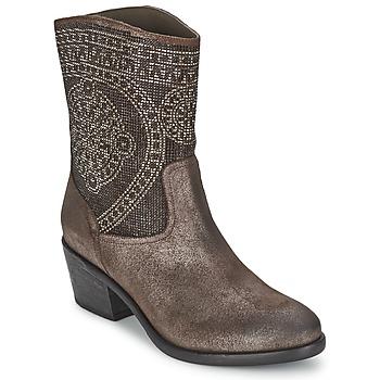 Pantofi Femei Botine Now PIOMBO Gri