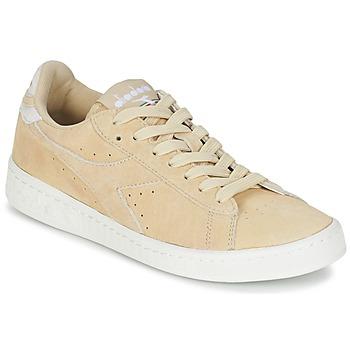 Încăltăminte Femei Pantofi sport Casual Diadora GAME LOW SUEDE Bej