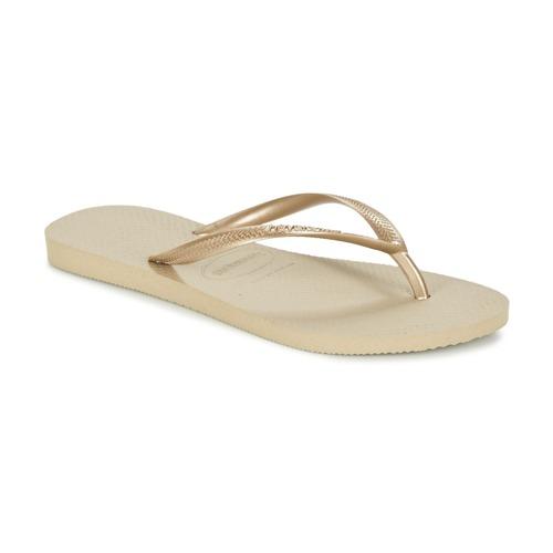 Pantofi Femei  Flip-Flops Havaianas SLIM Auriu