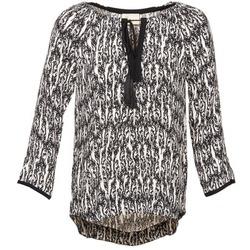 Îmbracaminte Femei Topuri și Bluze Stella Forest BTU010 Ecru / Negru