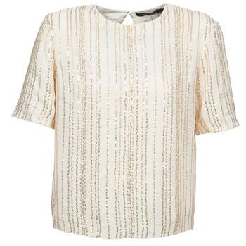 Îmbracaminte Femei Topuri și Bluze Antik Batik ROMINA Crem