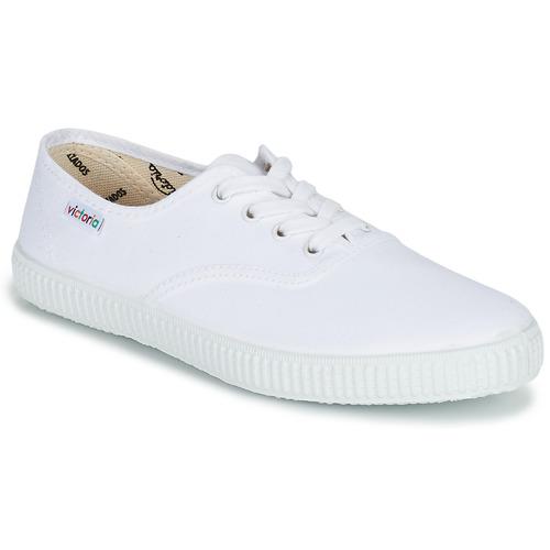 Pantofi Pantofi sport Casual Victoria INGLESA LONA Alb