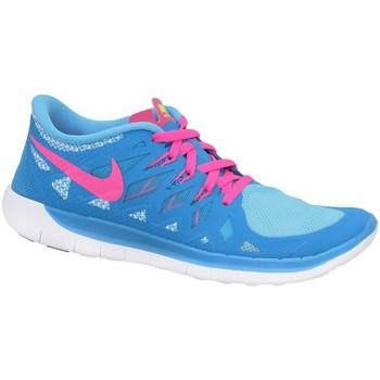 Pantofi Băieți Pantofi sport Casual Nike Free 50 GS Albastre, Roz