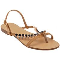 Pantofi Femei Sandale  F. Milano  Bej