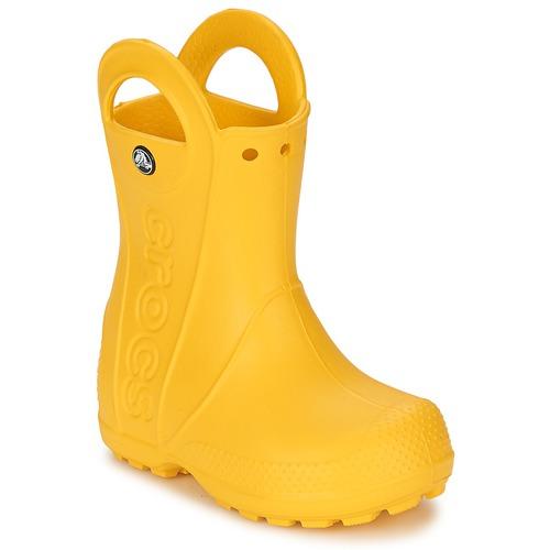Pantofi Copii Cizme de ploaie Crocs HANDLE IT RAIN BOOT KIDS Galben