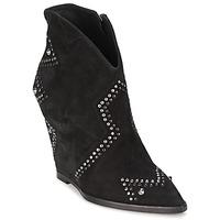 Pantofi Femei Botine Ash JESSICA Negru