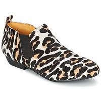 Pantofi Femei Ghete Buffalo SASSY Leopard