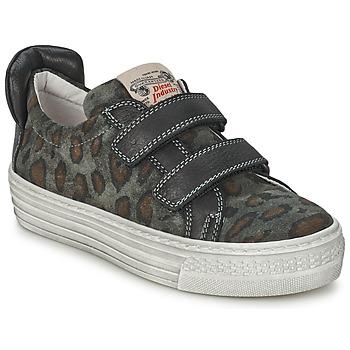 Încăltăminte Copii Pantofi sport Casual Diesel JERMAN Gri / Leopard
