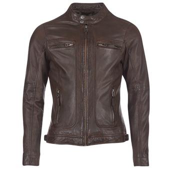Îmbracaminte Bărbați Jachete din piele și material sintetic Oakwood CASEY Maro