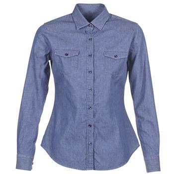 Îmbracaminte Femei Cămăși și Bluze Yurban FERVINE Albastru