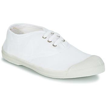 Pantofi Copii Pantofi sport Casual Bensimon TENNIS LACET Alb
