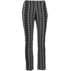 Îmbracaminte Femei Pantalon 5 buzunare Manoush TAILLEUR Gri / Negru