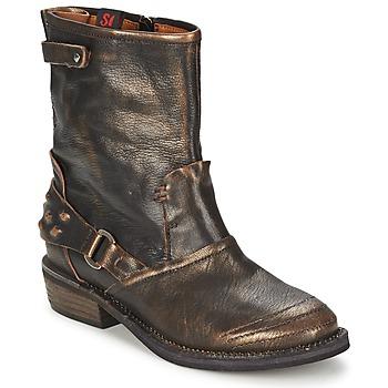Pantofi Femei Ghete Sans Interdit HASHLEY Scorțișoară