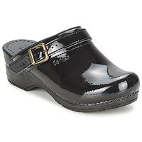Pantofi Femei Saboti Sanita FREYA Negru