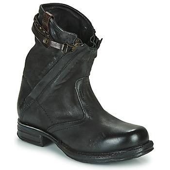 Pantofi Femei Ghete Airstep / A.S.98 SAINT METAL ZIP Negru