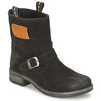 Pantofi Fete Ghete Le Temps des Cerises JUNIOR ALOE Negru
