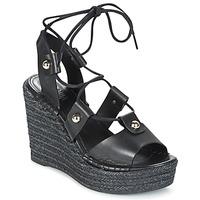 Pantofi Femei Sandale și Sandale cu talpă  joasă Sonia Rykiel 622908 Negru
