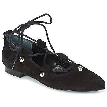 Pantofi Femei Balerin și Balerini cu curea Sonia Rykiel 622107 Negru